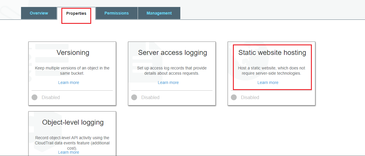 How to host static website using S3 in AWS
